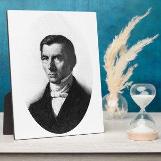 Retrato de Federico liberal clásico Bastiat Placas De Madera