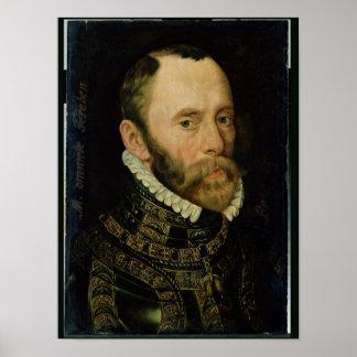 Retrato de Felipe van Montmorency Póster