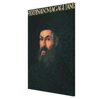Retrato de Fernando de Magallanes Impresión En Lona Estirada