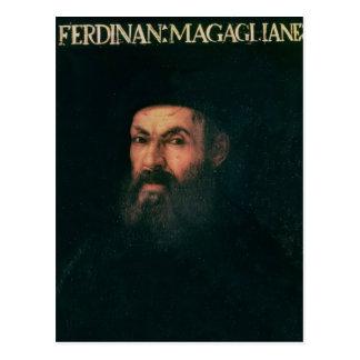 Retrato de Fernando de Magallanes Tarjeta Postal
