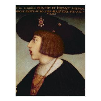 Retrato de Fernando I, emperador romano santo Postal