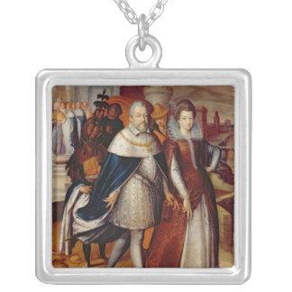 Retrato de Fernando I y su sobrina Joyería