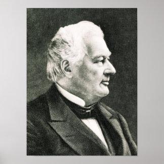 Retrato de Fillmore Millard Posters