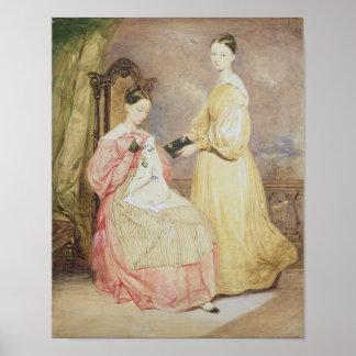 Retrato de Florence Nightingale y de ella Impresiones