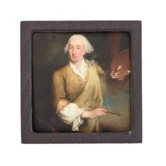Retrato de Francesco Guardi (1712-93) (el aceite e Caja De Regalo De Calidad