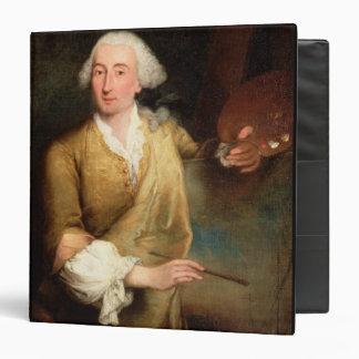 Retrato de Francesco Guardi (1712-93) (el aceite e