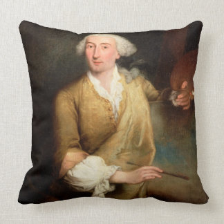 Retrato de Francesco Guardi (1712-93) (el aceite e Almohada