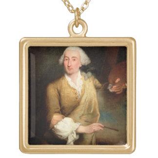 Retrato de Francesco Guardi (1712-93) (el aceite e Grimpola Personalizada