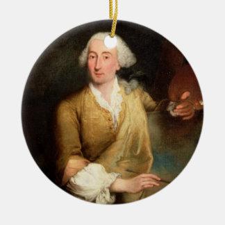 Retrato de Francesco Guardi (1712-93) (el aceite e Ornamento Para Reyes Magos
