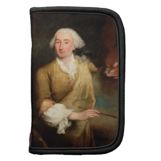 Retrato de Francesco Guardi (1712-93) (el aceite e Organizador
