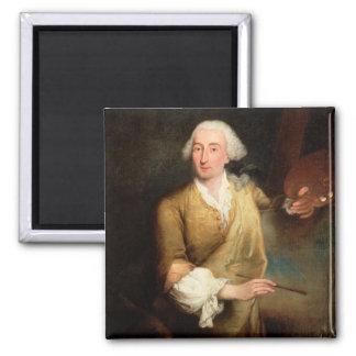 Retrato de Francesco Guardi (1712-93) (el aceite e Iman