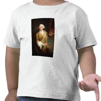 Retrato de Francesco Guardi (1712-93) (el aceite e Camiseta
