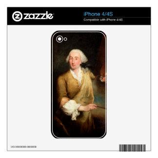 Retrato de Francesco Guardi (1712-93) (el aceite e Calcomanía Para iPhone 4