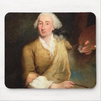 Retrato de Francesco Guardi (1712-93) (el aceite e Alfombrillas De Ratones