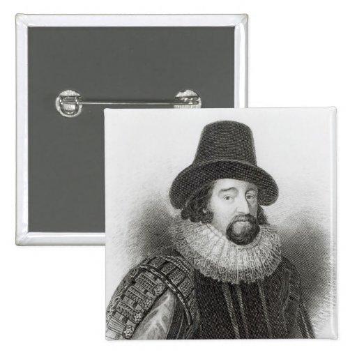 Retrato de Francis Bacon Pin