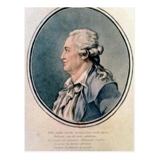Retrato de Francisco Antón Mesmer Postal