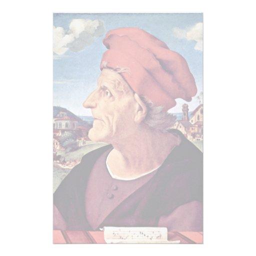 Retrato de Francisco Giamberti. Por Piero Di Cosim Papeleria Personalizada