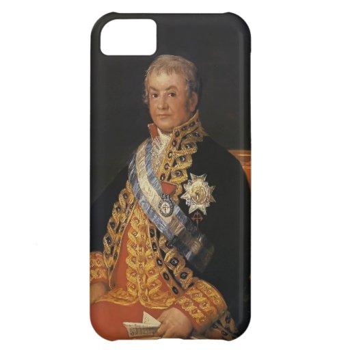 Retrato de Francisco Goya- de José Antonio Funda Para iPhone 5C