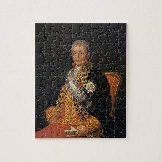 Retrato de Francisco Goya- de José Antonio Rompecabezas