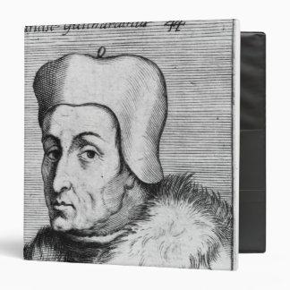 """Retrato de Francisco Guicciardini Carpeta 1 1/2"""""""