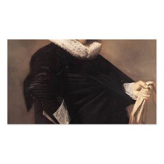 Retrato de Francisco Hals- de un hombre Tarjetas De Visita