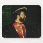 Retrato de Francisco I 1538 Alfombrilla De Ratón