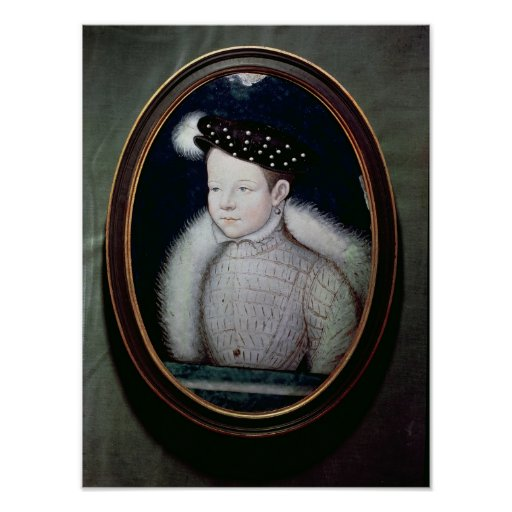 Retrato de Francisco II como delfín de Francia Póster