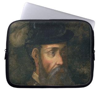 Retrato de Francisco Pizarro (c.1478-1541) Spanis Mangas Portátiles