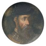 Retrato de Francisco Pizarro (c.1478-1541) Spanis Platos