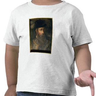 Retrato de Francisco Pizarro (c.1478-1541) Spanis Camisetas
