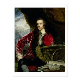 Retrato de Francisco Russell, el marqués de Tavis Postal