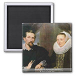 Retrato de Francisco Snyders y su esposa Iman De Nevera