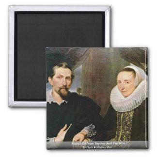 Retrato de Francisco Snyders y su esposa Imán Cuadrado