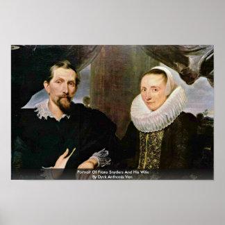 Retrato de Francisco Snyders y su esposa Impresiones