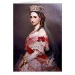 Retrato de Francisco Winterhalter- de Charlotte, B Tarjeta De Felicitación