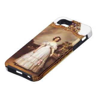 Retrato de Francisco Winterhalter- de princesa iPhone 5 Carcasas