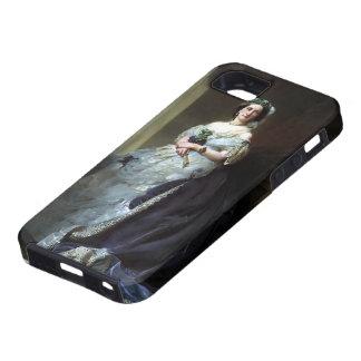Retrato de Francisco Winterhalter- de señora iPhone 5 Cárcasas