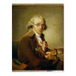 Retrato de Francois-Andre Vincent Tarjetas Postales