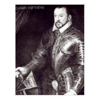 Retrato de Francois I, duque de Montmorency Tarjetas Postales