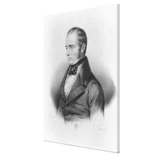 Retrato de Francois Javier Bichat Impresión En Lienzo Estirada
