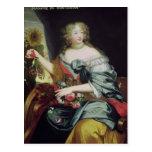 Retrato de Francoise-Athenaise Rochechouart Tarjetas Postales