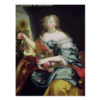 Retrato de Francoise-Athenaise Rochechouart Postales