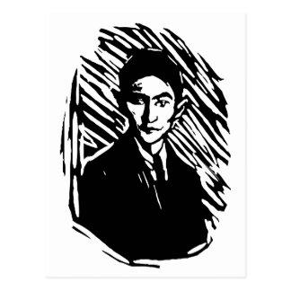 Retrato de Franz Kafka Tarjetas Postales