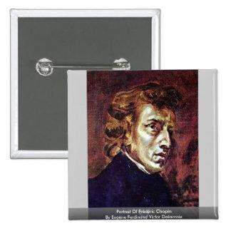 Retrato de Frédéric Chopin Pins