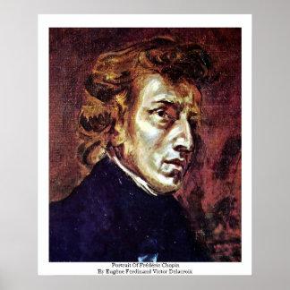 Retrato de Frédéric Chopin Impresiones