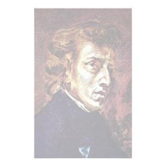 Retrato de Frédéric Chopin Papelería