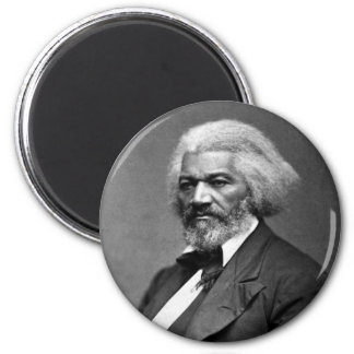 Retrato de Frederick Douglass de George K. Warren Imán Redondo 5 Cm