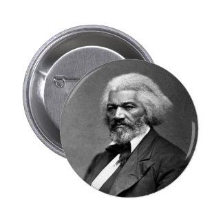 Retrato de Frederick Douglass de George K. Warren Pin Redondo De 2 Pulgadas
