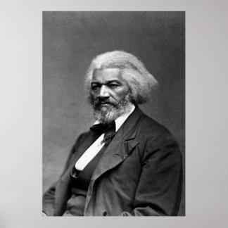 Retrato de Frederick Douglass de George K. Warren Póster