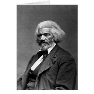 Retrato de Frederick Douglass de George K. Warren Felicitación